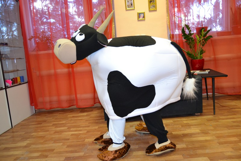 Костюм коровы сшить