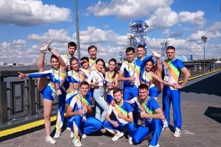 Пошив костюмов для Cheerleading — FINA 2015.